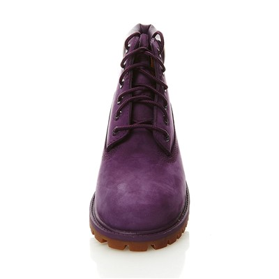 TIMBERLAND 6 In Premium - Boots en cuir - mauve