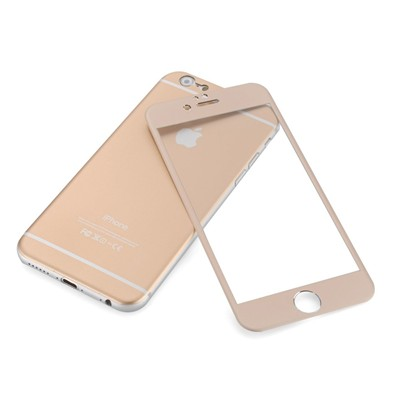 Vitre de protection pour iPhone 6 - or