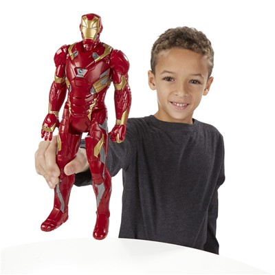 Hasbro Figurine iron man - multicolore