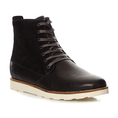 POINTER Boots en cuir - noir