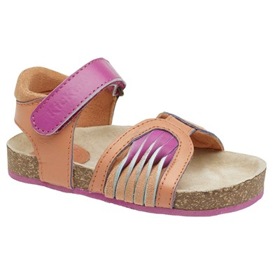 KICKERS Nantira - Sandales en cuir - orange