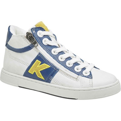 KICKERS Poolover - Sneakers en cuir - blanc