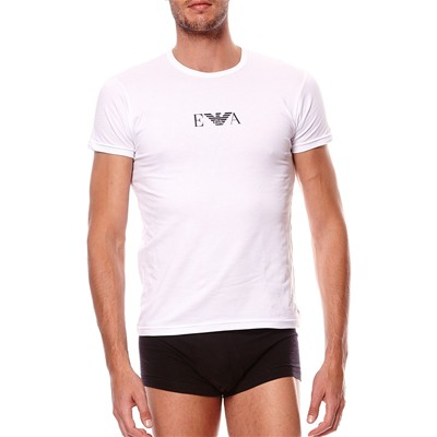 EMPORIO ARMANI UNDERWEAR MEN T-shirt manches courtes - blanc