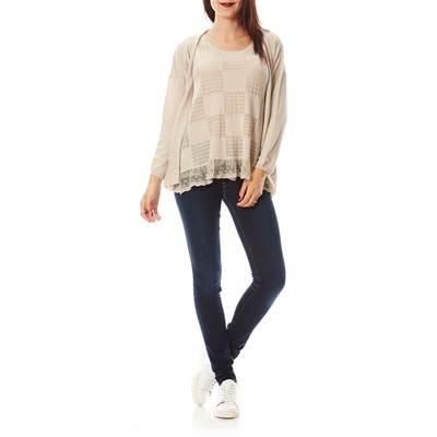 Cashmere Cashmere Beige 4 4 Pull Ever z5q5Pd