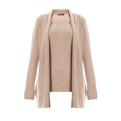 Cashmere Love pull - taupe