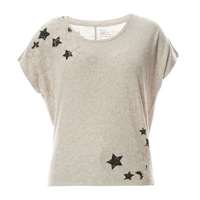 Ted - T-shirt en coton organique - gris