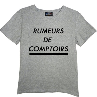FRENCHCOOL T-shirt - gris chine