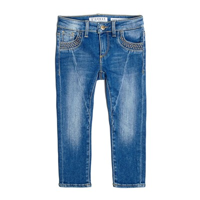 GUESS KIDS Jean skinny - denim bleu