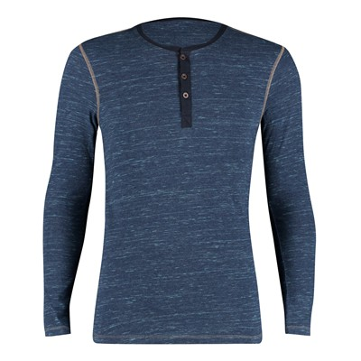 T-shirt - denim bleu