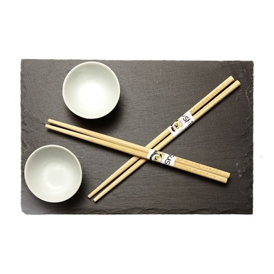 EXCELLENT HOUSEWARE Set à sushi - noir
