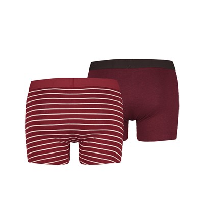 Lot de 2 boxers - bordeaux