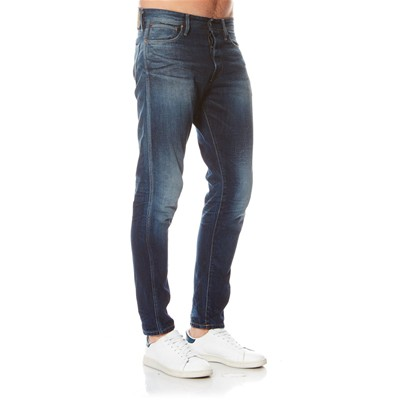 JACK & JONES Erik - Jean slim - denim bleu