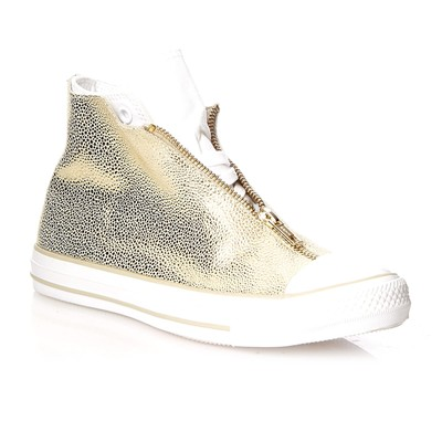zapatillas Converse CTAS CLASSIC SHROUD HI LIGHT GOLD/WHITE Zapatillas de ca?a alta