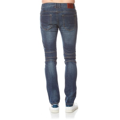 BEST MOUNTAIN Jean slim - denim bleu
