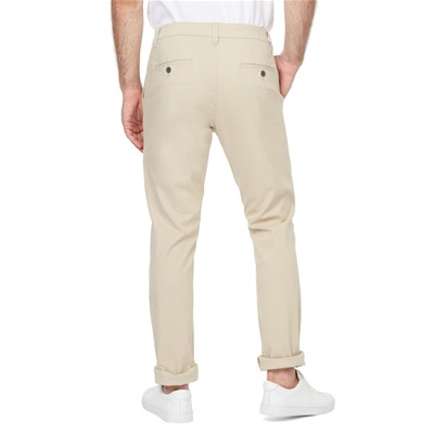MONOPRIX Pantalon chino - naturel