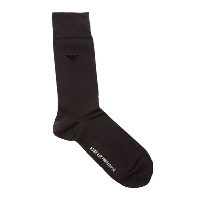 EMPORIO ARMANI UNDERWEAR MEN Lot de 2 chaussettes - anthracite