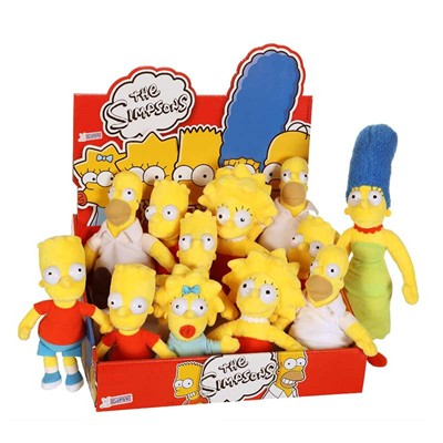 GIPSY Simpsons - Peluche 18 cm - multicolore