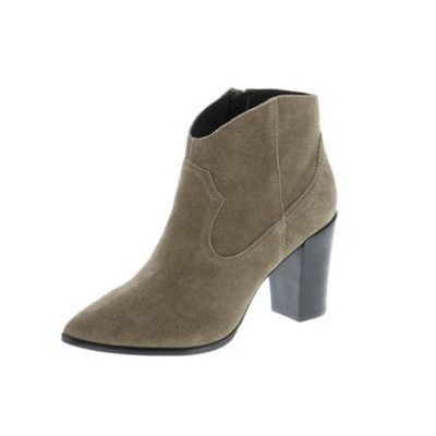 Boots en cuir - taupe