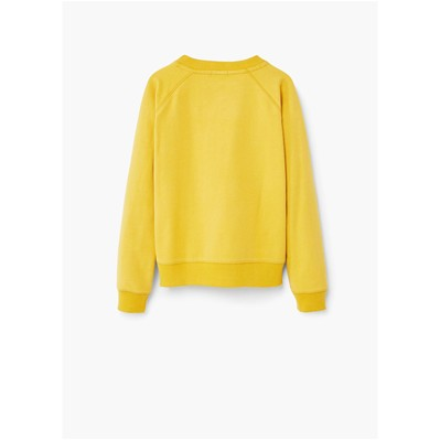 MANGO KIDS Sweat-shirt - jaune