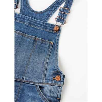 MANGO KIDS Salopette - denim bleu