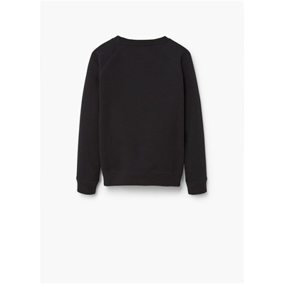 MANGO KIDS Sweat-shirt - noir
