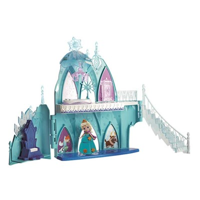 HASBRO Mini chateau d'elsa - multicolore