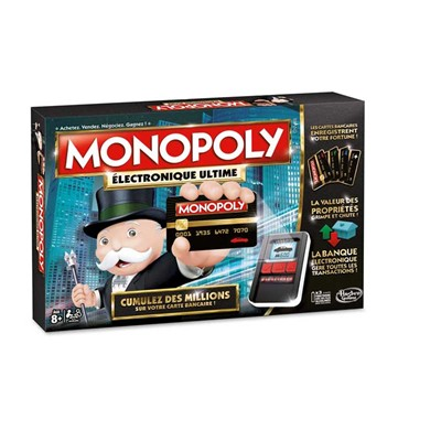 Hasbro Monopoly électronique ultime - multicolore