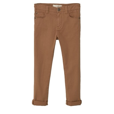 MANGO KIDS Pantalon droit - marron