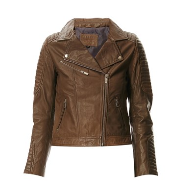 Giacca Biker Usual Franca Stile Talpa In Pelle Way By4yqR