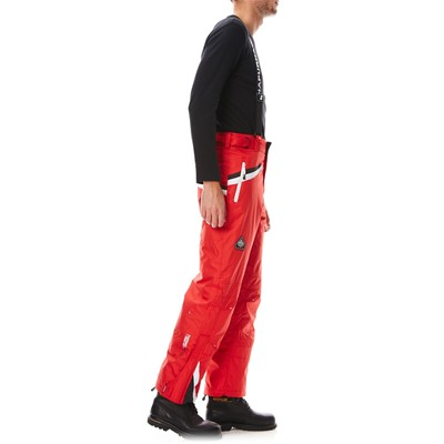 GEOGRAPHICAL NORWAY Pantalon de ski avec bretelles - rouge