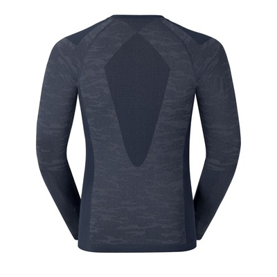 ODLO EVOLUTION WARM Blackcomb - T-shirt - bleu