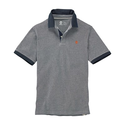 TIMBERLAND Polo - gris chine