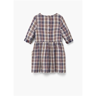 MANGO KIDS Robe fluide - marron
