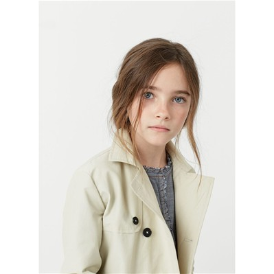 MANGO KIDS Trench - beige