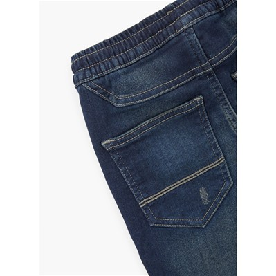 MANGO KIDS Jean slim - denim bleu