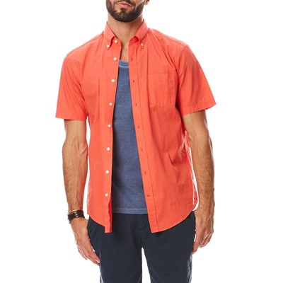 Chemise manches courtes - rouge