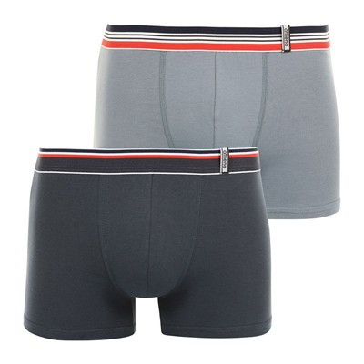 ATHENA Easy color - Lot de 2 boxers - gris
