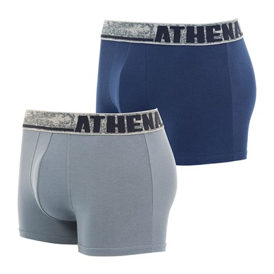 ATHENA Factory - Lot de 2 boxers - multicolore