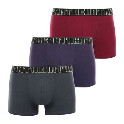 ATHENA Easy chic - Lot de 3 boxers - multicolore