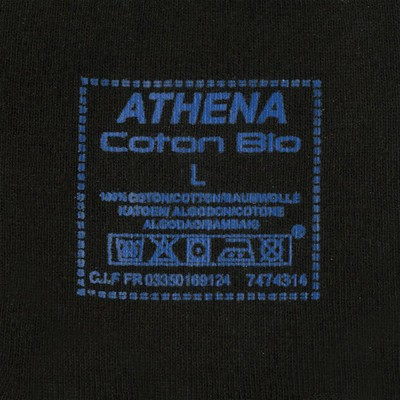 ATHENA Lot de 2 T-shirts - noir