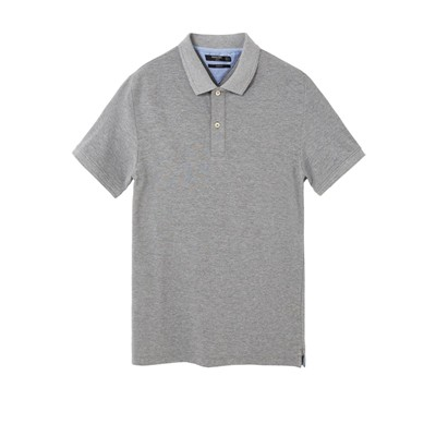 MANGO MAN Polo - gris chine