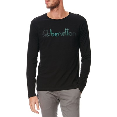 BENETTON T-shirt - noir
