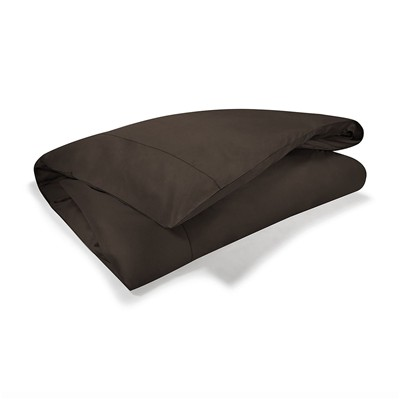 CALVIN KLEIN HOME Satin - Housse de couette - marron