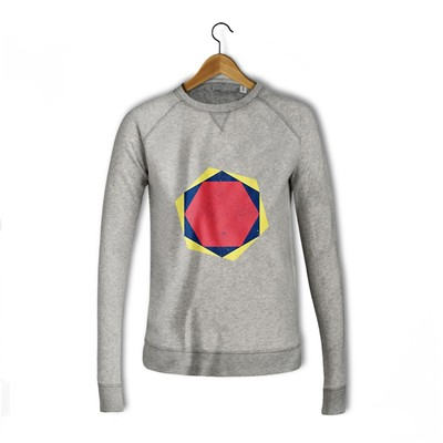 BALIBART Hexagonal - Sweat-shirt - gris