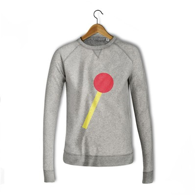 BALIBART Lollipop - Sweat-shirt - gris
