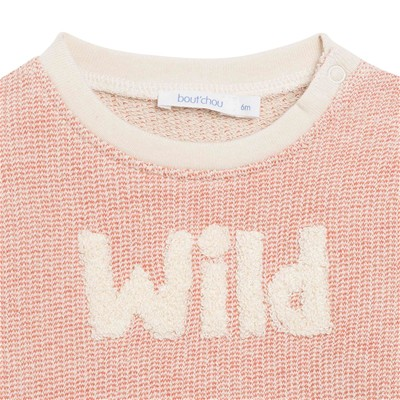 BOUT'CHOU Sweat-shirt - rose