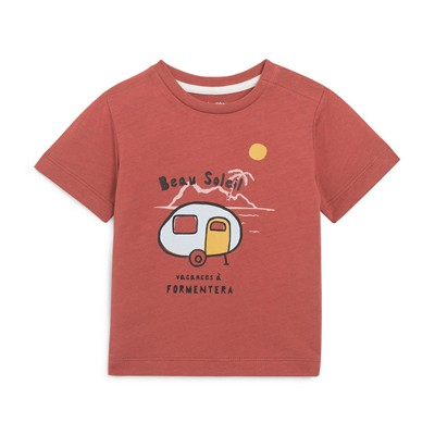 BOUT'CHOU T-shirt - rouille