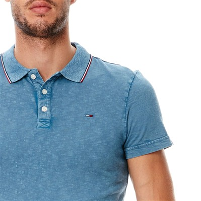 HILFIGER DENIM Polo - bleu brut