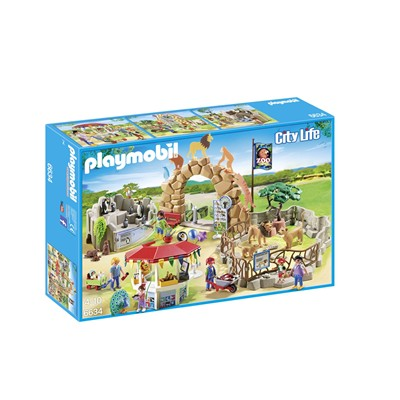 PLAYMOBIL Playmobil grand zoo - multicolore