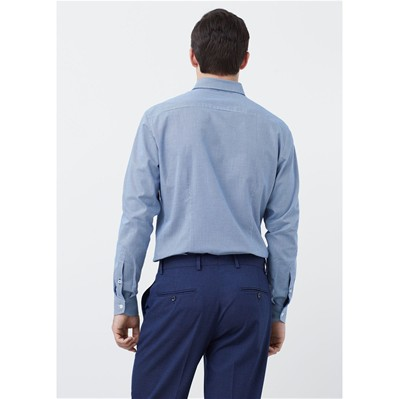 MANGO MAN Tailored - Chemise - bleu